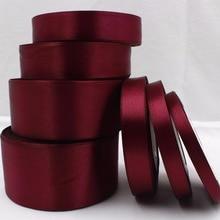 YJHSMY 083, 25 ярдов шелковой атласной ленты, свадебные декоративные ленты, подарочная упаковка, материалы ручной работы