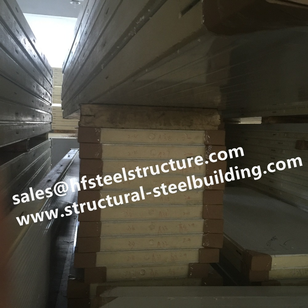 Prefabricated Cold Storage In PU Sandwich Panels For Food