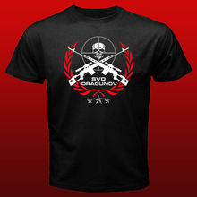 SVD Dragunov Russian Sniper Elite Riffle T shirt men army Force t gift Casual tee USA size S-3XL