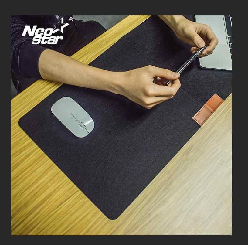 Grand bureau tapis de souris ordinateur portable bureau Pad Gaming tapis de souris pratique bureau repos laine feutre tapis de souris