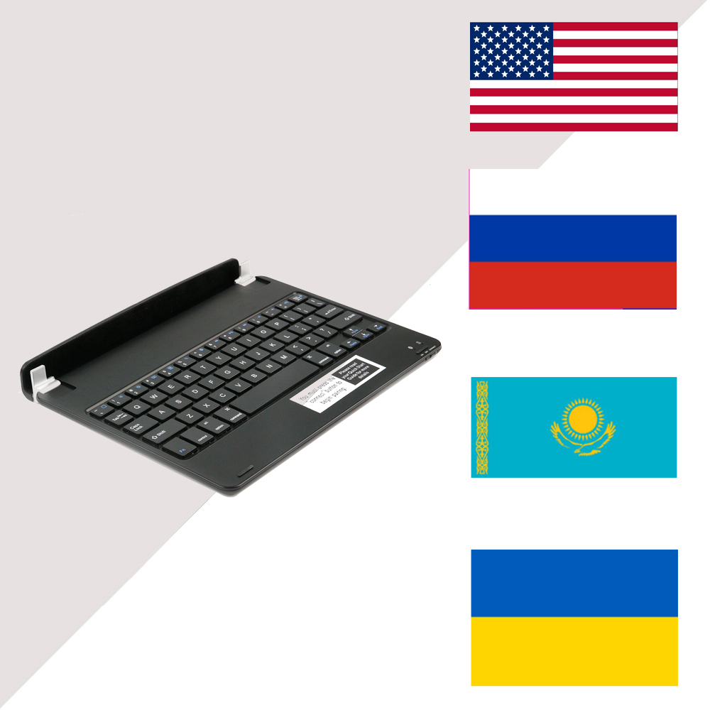 RS For iPad Pro 9.7 inch Portable Keyboard Wireless Bluetooth Keyboard with USB Charging Cable Bluetooth Keyboard