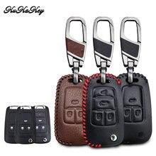 Kukakey кожаный чехол для автомобильного ключа chevrolet cruze