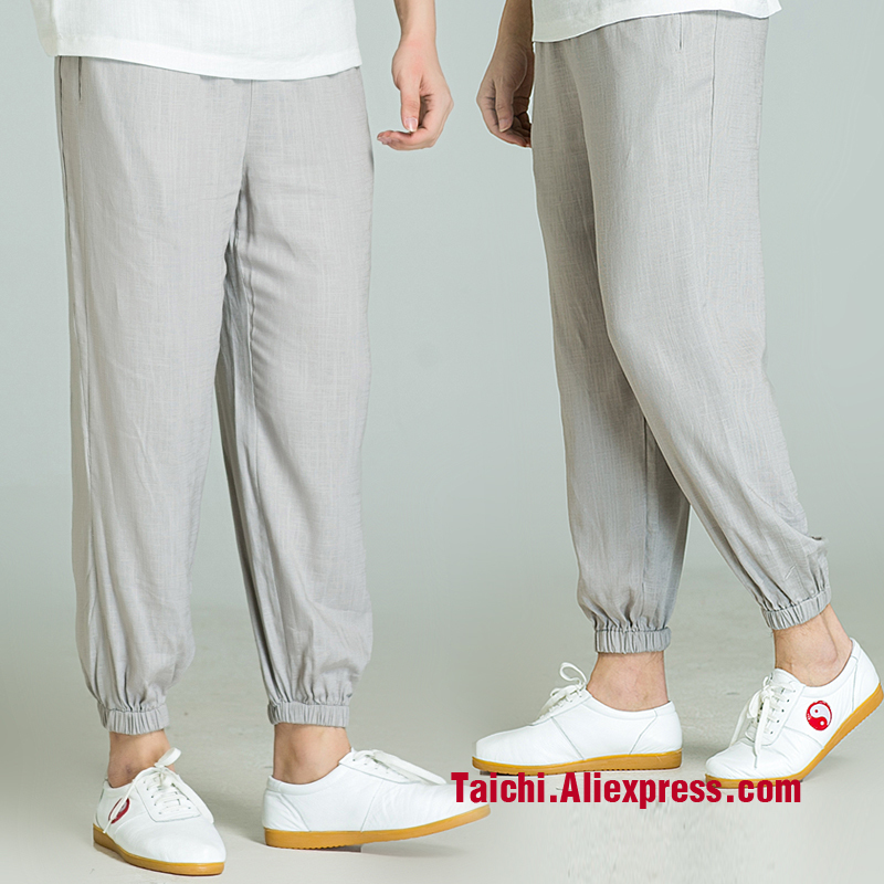 Tai Chi Pants  Martial Art Pants For Women And Men 5 Colors Free Shipping
