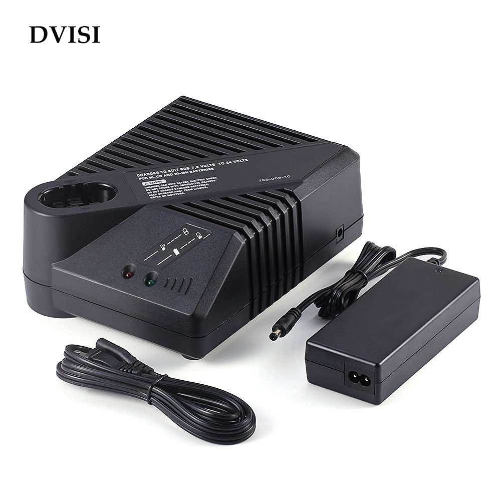DVISI Ni-Cd Ni-Mh Replacement Battery Charger for Bosch 7.2Volts to 24volts Ni-Cad Ni-Mh Power Tool Batteries bort bab 14ux2li fdk