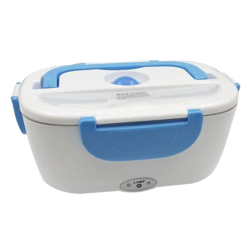 Portable Electric Heating Lunch Box Food-Grade Thermos Food Container Food Warmer For Kids EU Plug/Car ChargerPortable Electric Heating Lunch Box Food-Grade Thermos Food Container Food Warmer For Kids EU Plug/Car Charger