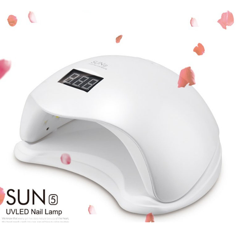 SUN5 48W Nail Lamp Dryer LED Phototherapy Drying Nail Gel Polish Lamp Manicure Tool for Nails EU US AU UK Plug suelina sun 36w nail dryer upgraded diamond leduv lamp for nail art dryer gel nail polish drying manicure hotsale 13days only