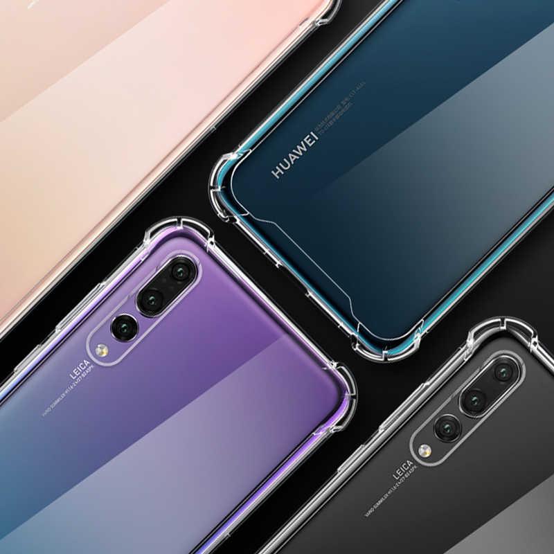 Full Protecive TPU Silicone Case For Huawei P20 Lite Nova 3i 3 Mate 10 Pro 20 Lite Anti-knock Clear Cover For Honor 9i 9 lite