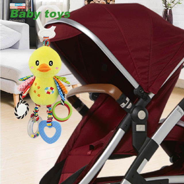 Baby Rattle Stroller Hanging Soft Toy Rabbit