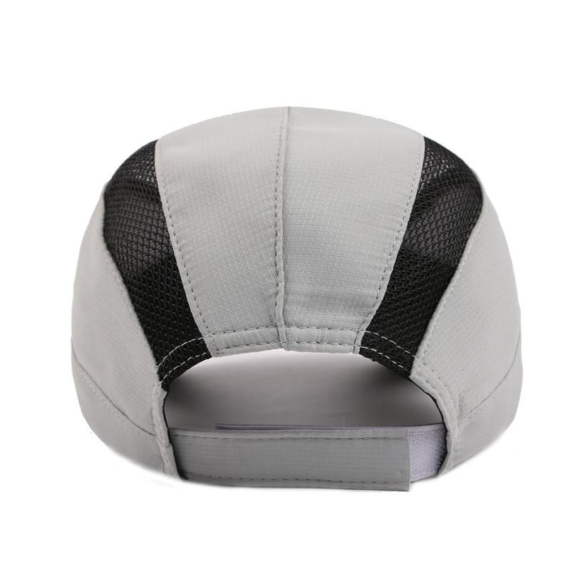 Snabbtorkade sommarbaseballhattar med glänsande tyg Hatt för män - Kläder tillbehör - Foto 6