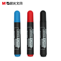 M G MG2160 Whiteboard Pen Erasable Pen Red Black Blue Shift Sketchpad Non Toxic Easy To