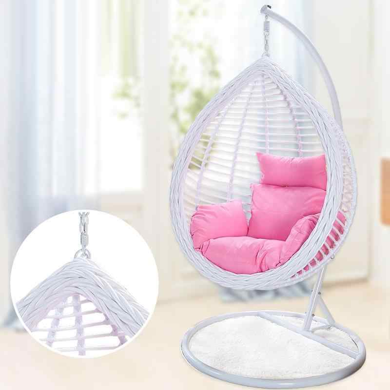 Hanging Egg Chair-Outdoor e Indoor Rattan Dondolo,Brown