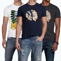 TOP Quality YiRuiSen Brand Casual T Shirt 100 Cotton Tops Tees Summer Men T Shirt Short