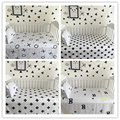Fashion Newborn Baby Bed sheets Black White Crib Quilt infant Baby Bedding 100% cotton cute Baby blankets baby product 110*150cm