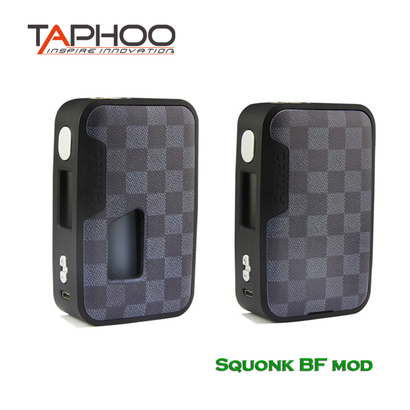 Taphoo Anita 100w Squonk BF mod Squonker Bottle 5-100W OLED White Screen TC E-Cigarette Vape Box Mod vandy vape new panel pulse bf squonker mod