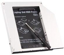 "2nd HDD Caddy 12.7mm IDE כדי SATA עבור 2.5 ""SSD כונן הקשיח Case מארז עבור HP DELL ASUS ACER טושיבה סמסונג LENOVO SONY"