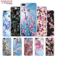 All Kinds Flowers Unique Silicone TPU back case For Huawei Honor 6X 7 8 7X 8X MAX 9 10 Lite V9 Play V20 8C Gift Customize Cover