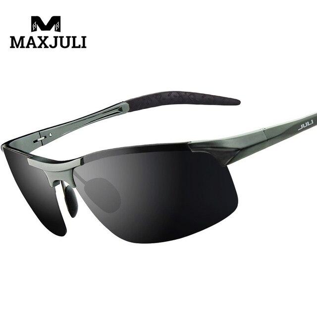 17ecd51d0d MAXJULI Polarized Sports Designer Sunglasses for Men Women Driving Baseball  Cycling Fishing Golf Al-Mg Alloy Superlight