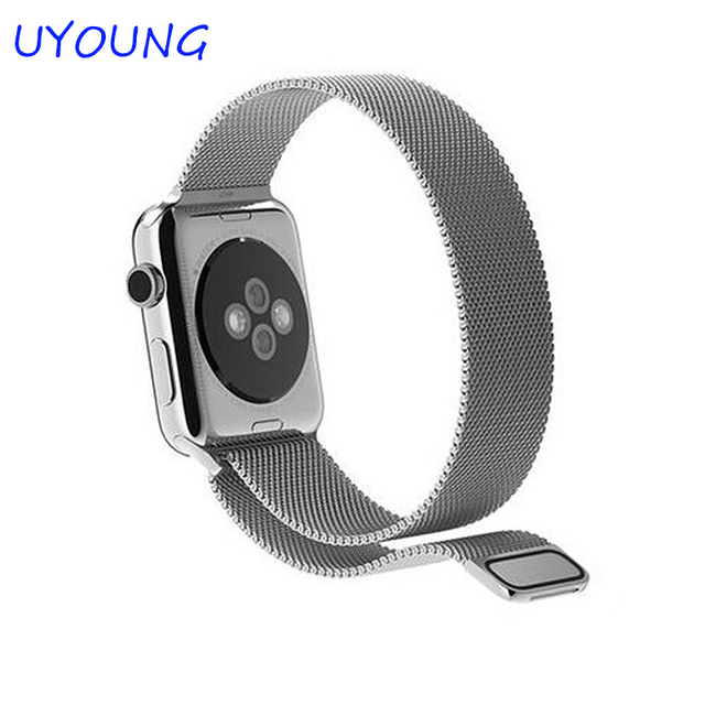 High Quality Original Design Magnetic Milanese Loop Iwatch Strap Stainless Steel Watchband For Apple Iwatch band 38mm/42mm
