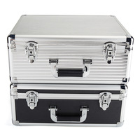 Aluminum Alloy Shockproof Trunk Multifunctional ABS Storage Case Large Capacity Tool Box High Quality Storage Case