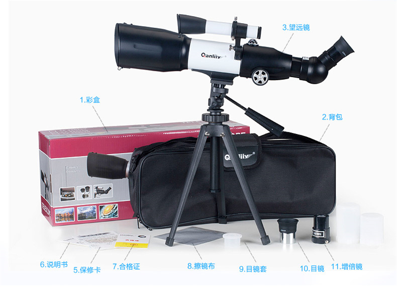High magnification new 116 Magnification HD zoom astronomical telescope Outdoor Monocular Space Astronomical Telescope jjff цена