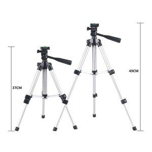 Image 3 - Универсальный Портативный штатив для цифровой камеры, видеокамеры, штатив, подставка, кронштейн для фонарь, легкий алюминиевый для Canon, Nikon, Sony, EM88