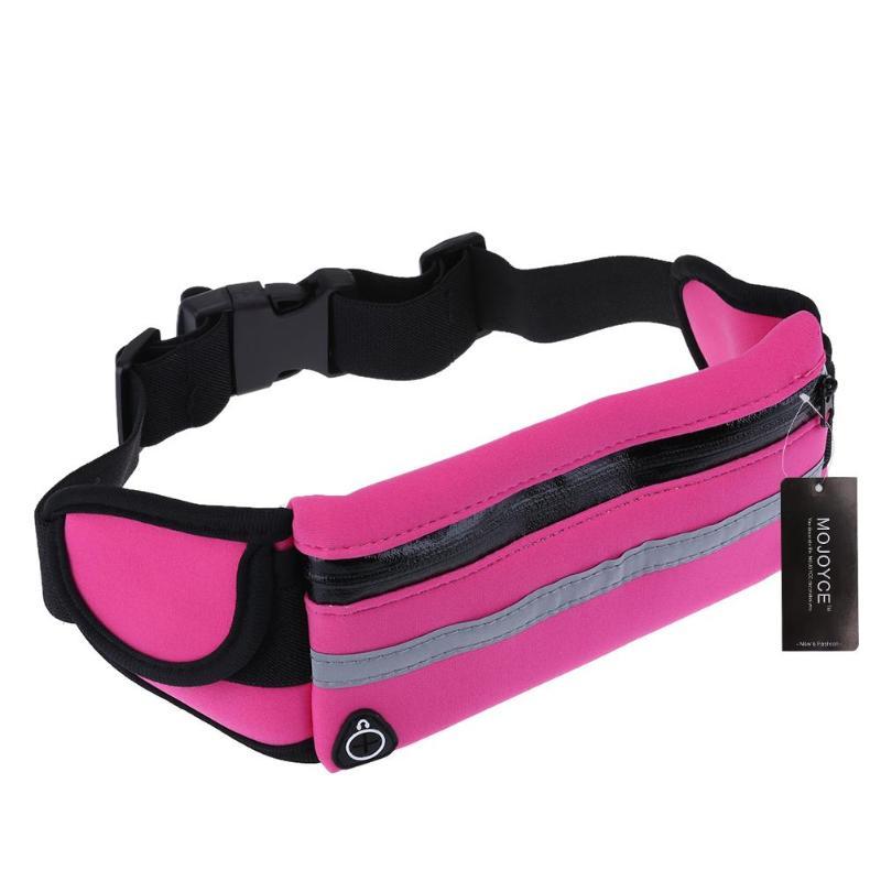 1 pcs Unisex Outdoor Running Waist Bag New Waterproof Cellpone Belt Bag Purse Waist Pack Bike Cycling Crossbag for 5.5 Phone