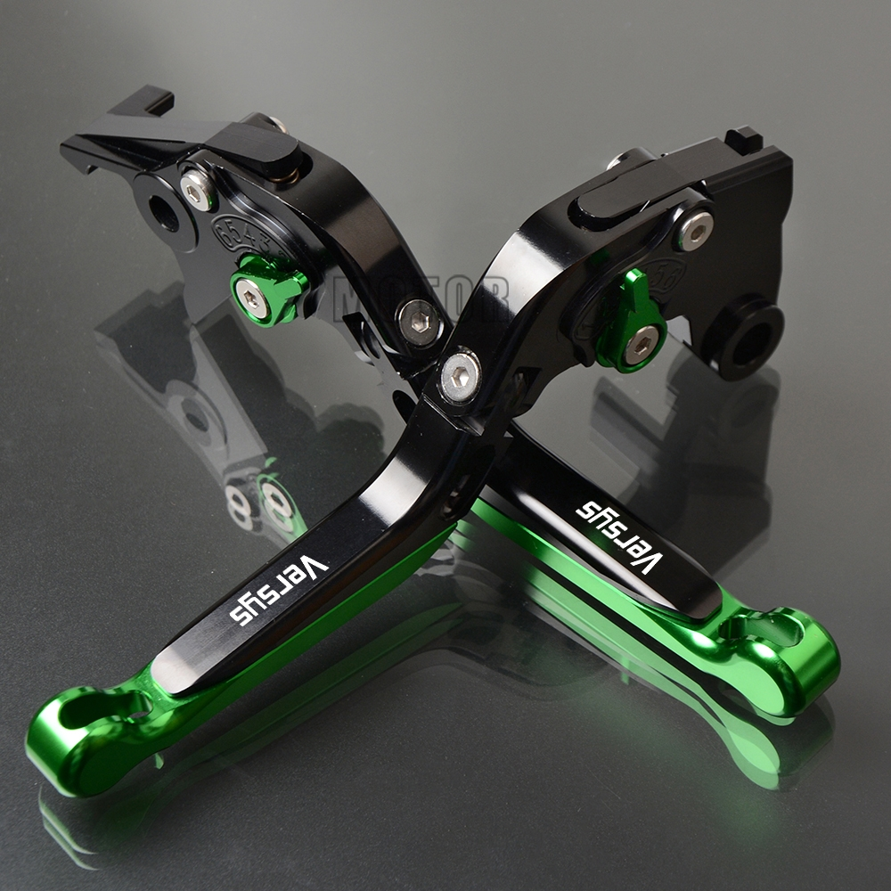 For Kawasaki VERSYS 650cc/1000/300X CNC Aluminum Motorcycle Brake Clutch Levers Adjustable Folding Fold Extendable 650 cc 300 XFor Kawasaki VERSYS 650cc/1000/300X CNC Aluminum Motorcycle Brake Clutch Levers Adjustable Folding Fold Extendable 650 cc 300 X
