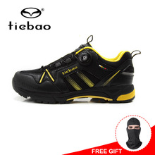 Tiebao MTB Cycling Shoes Mountain Bicycle Shoes Self lock Bike Shoes Anti slip Leisure Athlitic Shoes