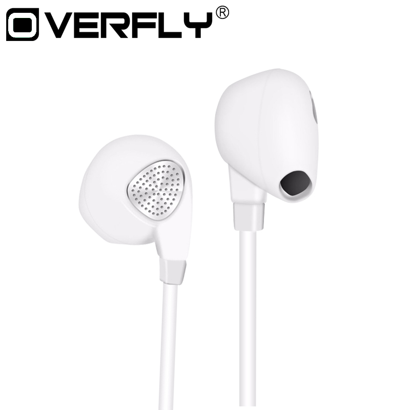 Overfly Stereo Bass Sound Earphone IM500 Wired Headphones Noise Canceling Headset with Microphone for mobile phone iPhone Xiaomi oneodio 4 1 bluetooth headphones sport stereo wired wireless headset with microphone mic noise canceling earphone for xiaomi