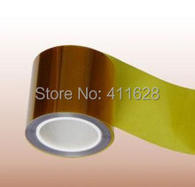1x 100mm * 33 M * 0.08mm Perekat Suhu Tinggi Menahan Tape, untuk PCB SMT, LED Strip, 3D printer Hot Alat(China)