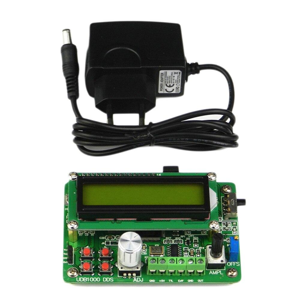 Module de Source réglable multifonctionnel de générateur de Signal de fonction de DDS affichage à cristaux liquides compteur de fréquence de 60 MHz onde sinusoïdale de 8 MHz