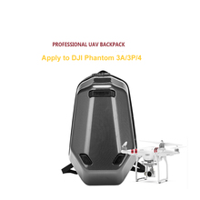 DJI Phantom3A/3P/4 Backpack Hard Shell Case Villepipes Carbon Fiber Backpack Shockprooof Box for DJI Phantom 3A/3P/4 Accessories