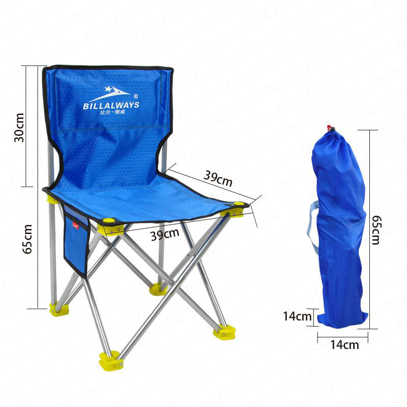 Outdoor Portable Folding Chair Stool Camping Beach Chair Fishing Chair Stool Painting Stool Sketching Chair Mazar Small Stool