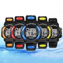 Лидер продаж унисекс цифровой электроники LED кварц Сигнализация день дата резиновые спортивные часы для человека новые женские Дизайн 5ry5 6yl7