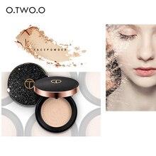 O. dos. O profesional maquillaje Fundación polvo Natural Face Powder control de aceite Brighten corrector de blanqueamiento polvo compacto