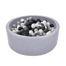 Крытый мягкие удобные детские шарики для игры, бассейн качество губка океан мяч бассейн Делюкс Детский круглый мяч яма идеальный подарок играть