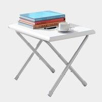 Faltbare Computertisch Studie Notebook Tragbare Kunststoff Nachttisch Höhenverstellbarer Laptop Schreibtisch Schlafsofa Büro Laptop Stand