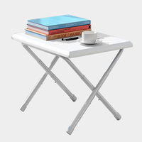 Foldable Computer Desk Study Notebook Portable Plastic Bed Table Height Adjustable Laptop Desk Sofa Bed Office