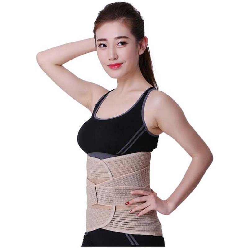 New Promotion Double Adjust Back Pain Relief waist support Back Support Brace Belt Lumbar Lower Waist Sport Accessories