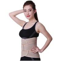 New Promotion Double Adjust Back Pain Relief waist support Back Support Brace Belt Lumbar Lower Waist Sport Accessories