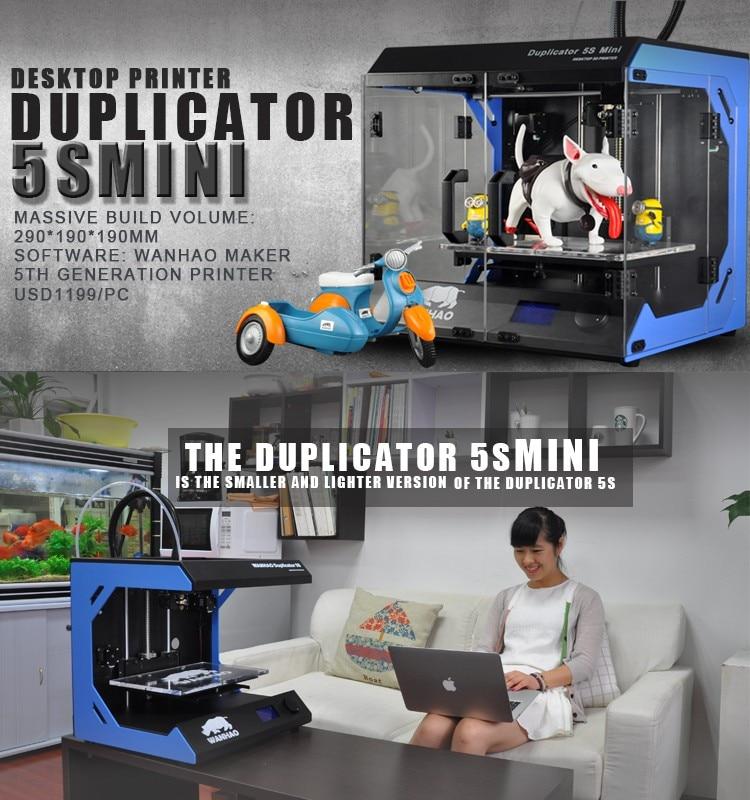 3D Printer-High Precision Printer-5th Generation 3D Printer