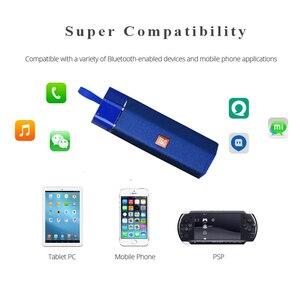 Image 3 - אלחוטי Bluetooth רמקול עמיד למים נייד חיצוני מיני טור רמקול תמיכת רדיו FM TF כרטיס סטריאו HiFi סאב Boxs
