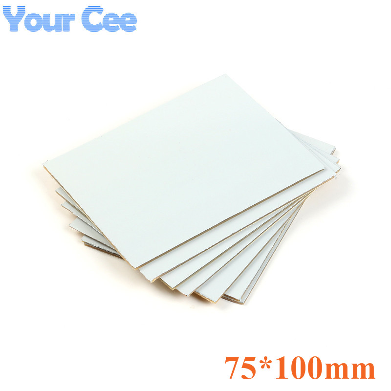5 Pcs PP Kinsten Positive Acting Presensitized PCB Board Single Side Plate Pcb 75x100MM Photosensitive Photo Sensitive