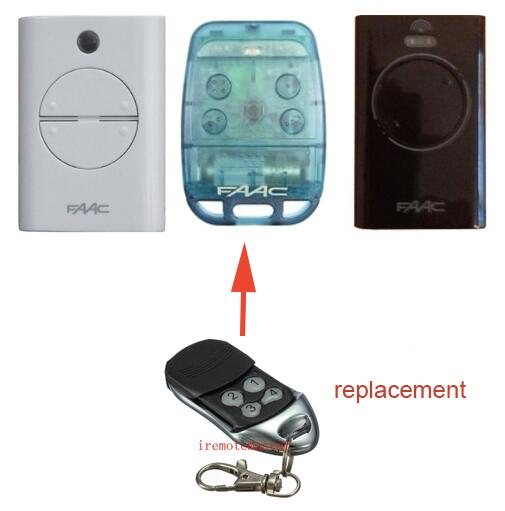 FAAC replacement remote control RFAC4 DHL free shipping faac replacement remote control rfac4 dhl free shipping