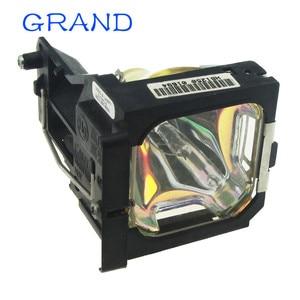 Image 4 - Venda da fábrica brandnew POA LMP86 substituição lâmpada do projetor nua com habitação para sanyo PLV Z1X/PLV Z3 bate feliz