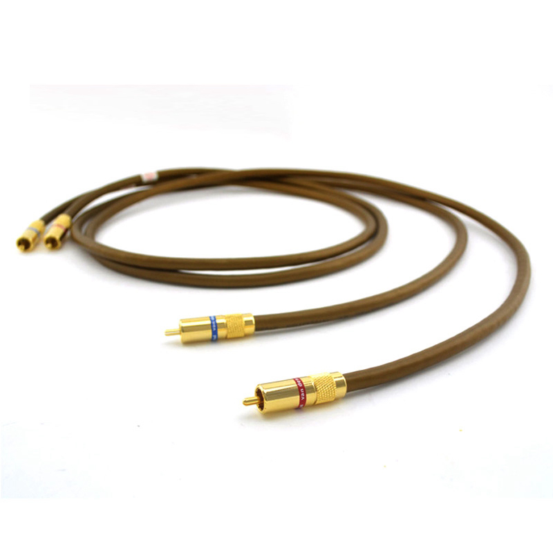 Free shipping Pair  VDH Integration Hybrid hifi RCA Interconnect Cable With VDH 24K Gold plated RCA jack монитор жк philips 220v4lsb 00 01 22 черный