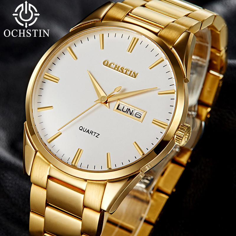Mens Watches Top Brand Luxury Golden Steel Automatic Mechanical Watch Men reloj hombre 2018 relogio Date Waterproof Men Watches luxury tss watch men sapphire glass date stainless steel mens sport black wristwatches automatic mechanical watches reloj hombre