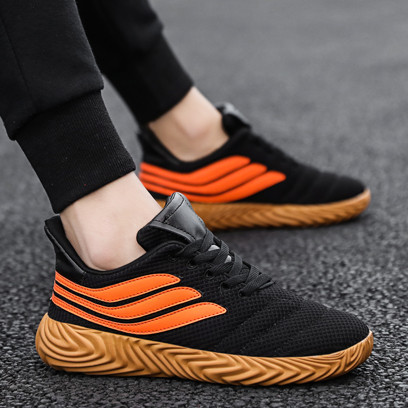 Lightweight Comfortable Fashion 2019 New Mens Shoes Men Sneakers Summer/Spring Mesh Jogging Chaussure Homme