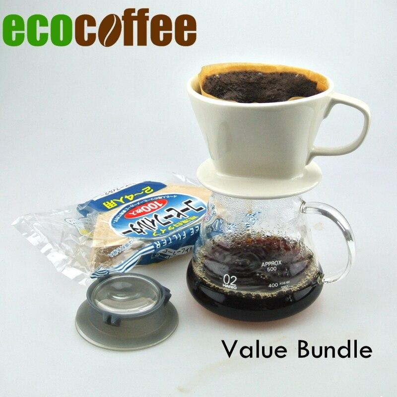 Νέα Άφιξη Οικολογικός Καφές Value Bundle V60 - Κουζίνα, τραπεζαρία και μπαρ - Φωτογραφία 1