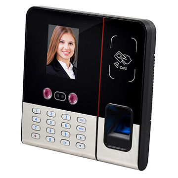 Face Recognition Systems With 2.8-inch TFT, Face, Fingerprint, Password, ID Card